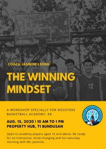 Aug'20 Roosters Basketball Academy - The Winning Mindset